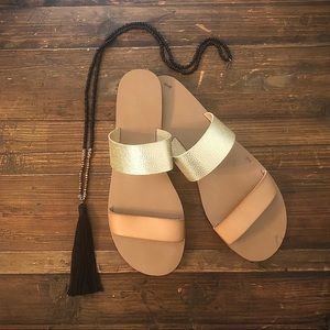 NWOT - J.Crew Double-Strap Sandal